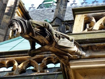 Dekorasjon på St. Vitus katedralen