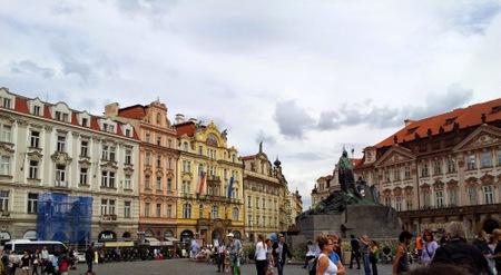 Rådhusplassen i Praha