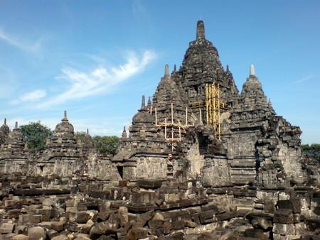 Candi Sewu i Prambanan arkeologisk park