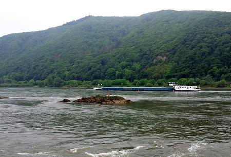 Lekter på Rhinen