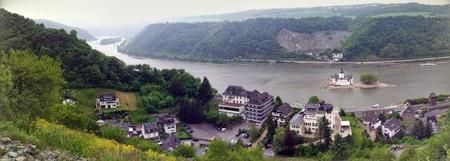 Utsikt over Rhindalen