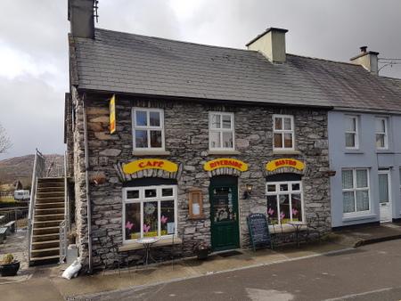 Cafe langs Ring of Kerry