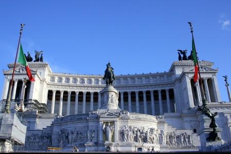 Monumentet over Vittorio Emmanuel II