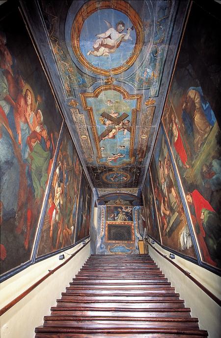 Den hellige trappen i Campli