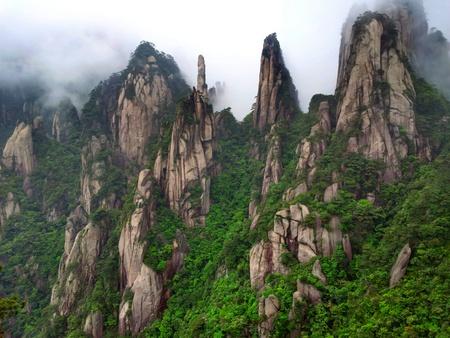 San Qing Shan formasjoner
