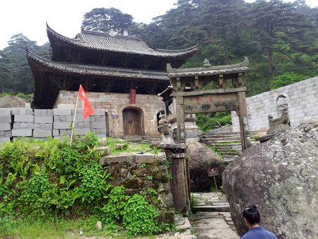 Taoismen lever på Sanqingshan