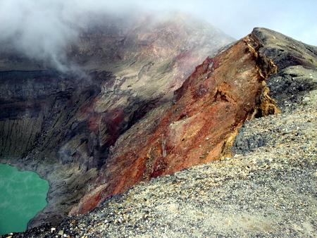 Kraterkanten av Santa Ana