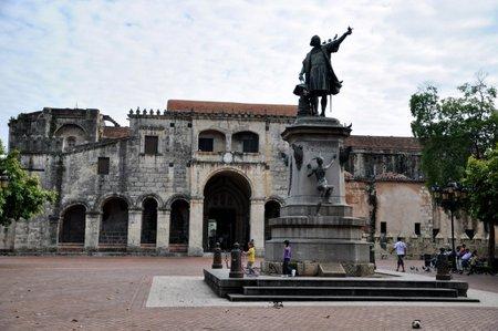 Statue av Columbus