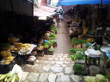 Marked i Sapa