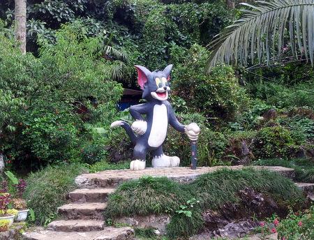 Statue av Tom i Sapa