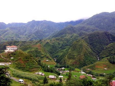 Utsikt fra Sapa