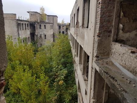 Sykehus ruiner