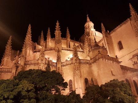 Katedralen på kvelden