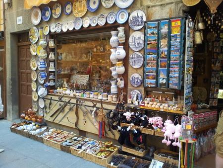Suvenirer i Segovia