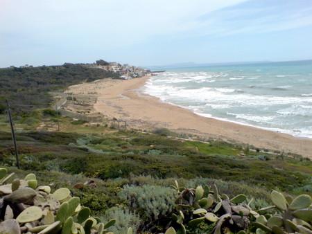 Stranden ved Selinunte