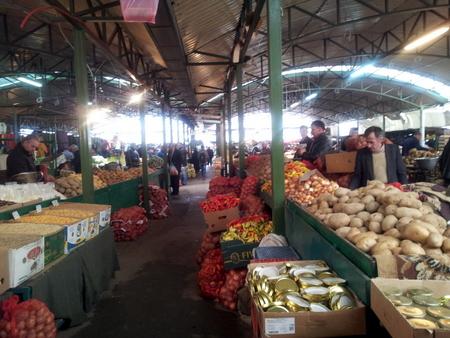 Det lokale markedet i den