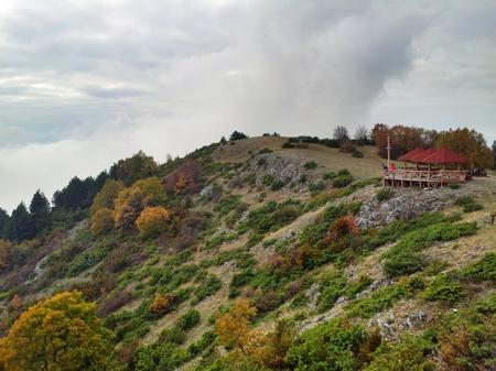 Oppe på fjellet Vodno