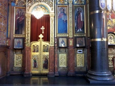 Inne i Sveta Nedelja kirken