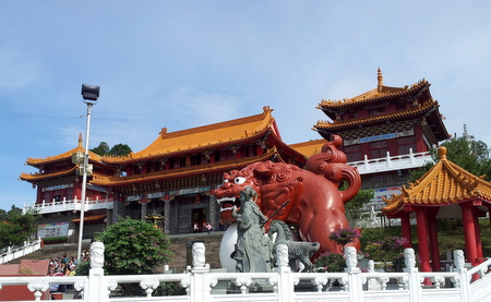 Utenfor Wenwu-tempelet