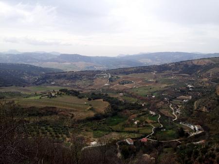 Landskap utenfor Ronda