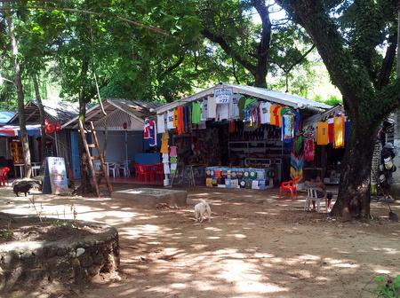 Butikker på Playa de Sosua