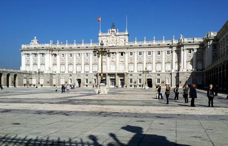 Kongelig slott i Madrid