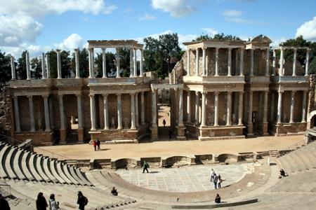 Romersk teater i Merida i provinsen Extremadura