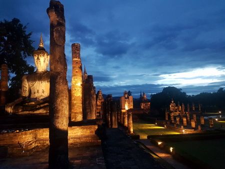 Sukhothai by night