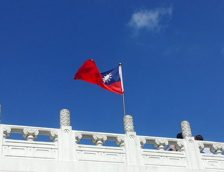 Taiwans flagg