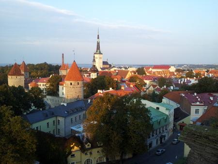 Utsikt over Tallinn