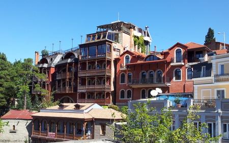 Balkonger i Tbilisi