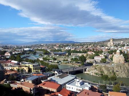 Utsikt over Tbilisi