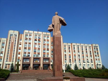 Statue av Lenin