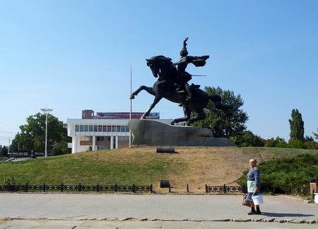 Statue av Alexander Suvorov