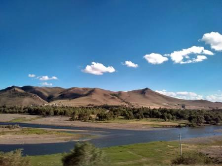 Landskap i Mongolia