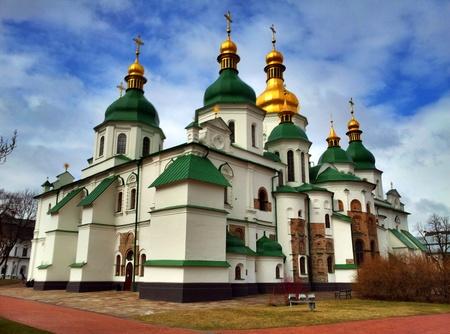 Sofiakatedralen i Kiev