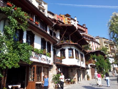 Gamlebyen har en spesiell arkitektur