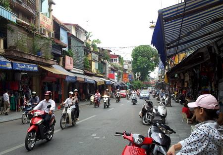 Gamlebyen i Hanoi