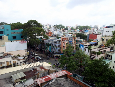 Utsikt over Ho Chi Minh byen