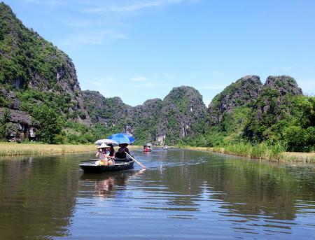 Tam Coc i Ninh Binh provinsen