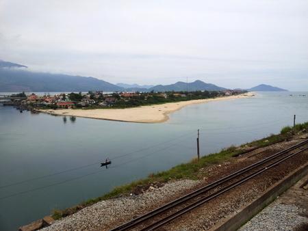 Fint landskap mellom Da Nang og Hue.