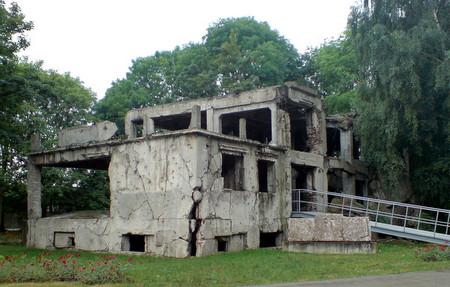 Kaserne på Westerplatte