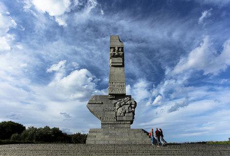 Monumentet på Westerplatte
