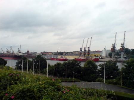 Utsikt mot Gdansk