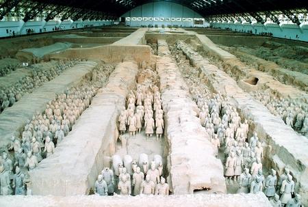 Terrakottahæren i Xian (Pit 1)