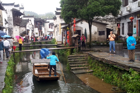 Turister i Xiao Likeng