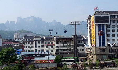 Gondolbanen til Tianmen Shan