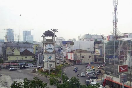 Klokketårn i Medan