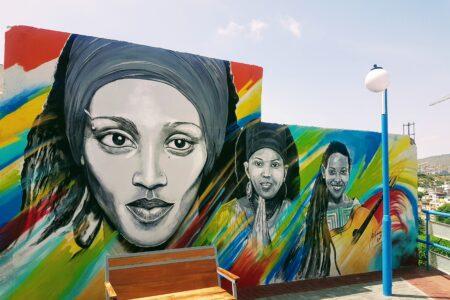 Veggmaleri i Praia