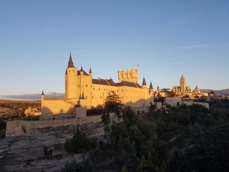 Segovias alcazar og katedral
